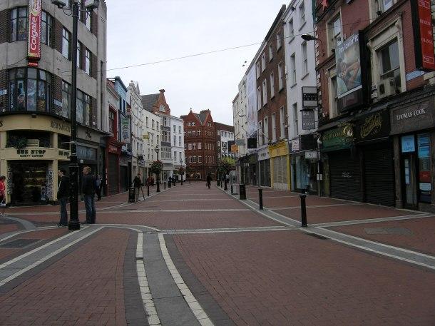 A street in Dublin