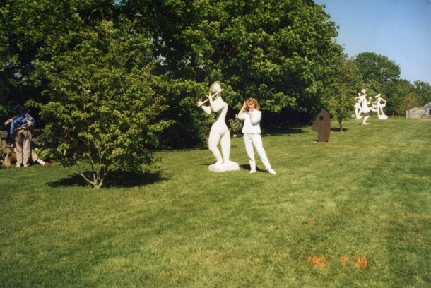 The Sculpture Garden on Martha's Vineyard