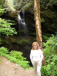 The start of our hikes in the Great Smokies