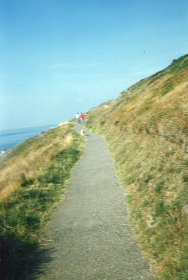 Cliff walk at The Mumbles