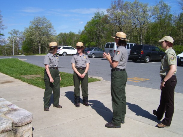 Yes, Virginia, there really are park rangers