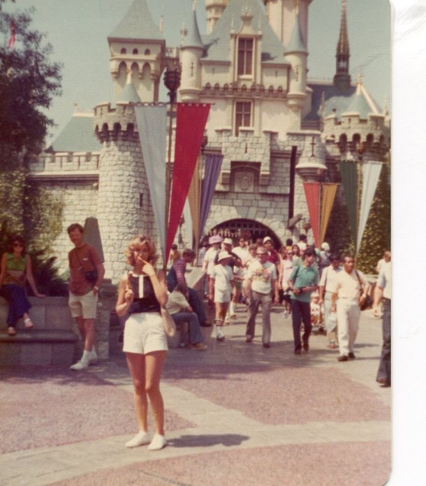 Ro at Disneyland