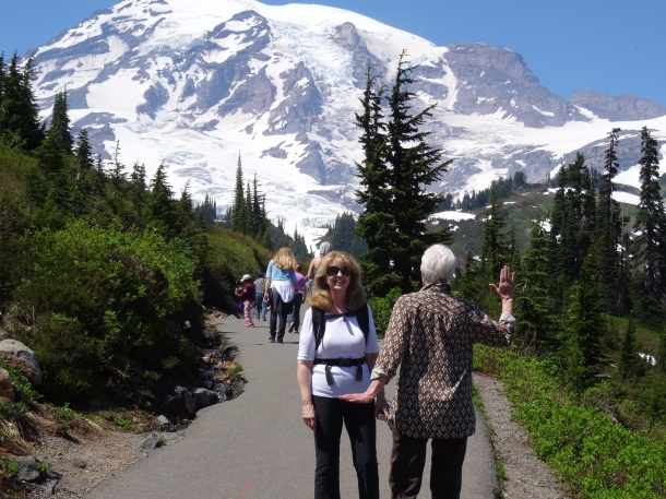 The great natural beauty of Mount Rainier
