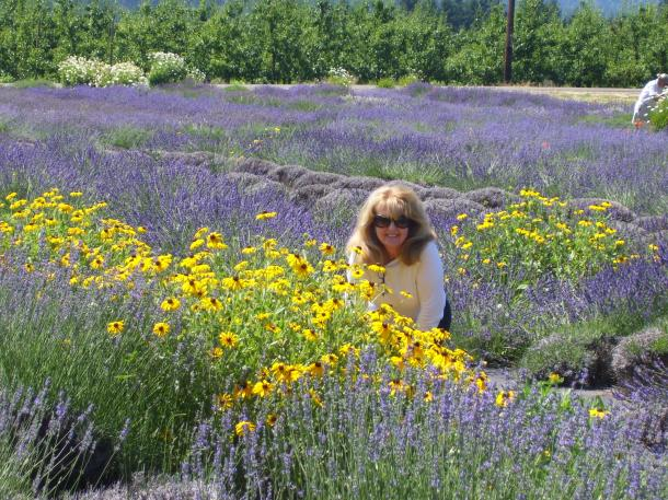 Drowning in lavender - and liking it!
