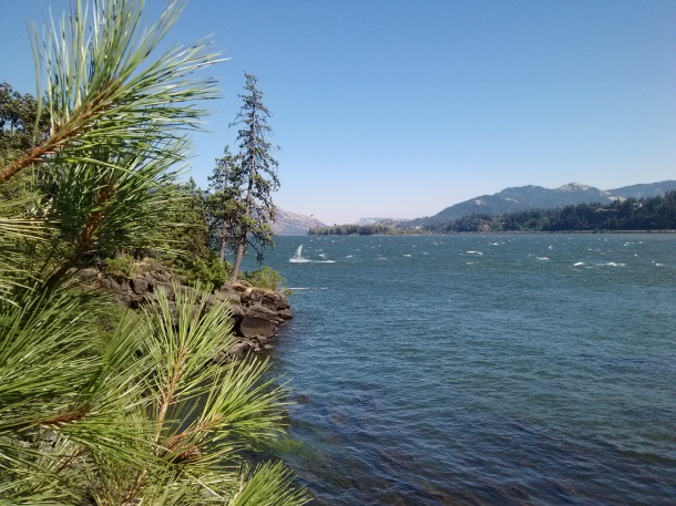 Views of the Columbia River