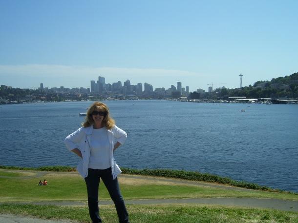 Standing on the shores of Elliott Bay