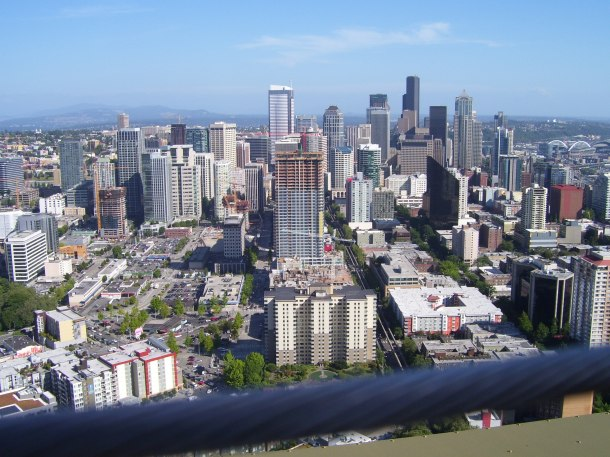 Seattle - the view from the Space Needle