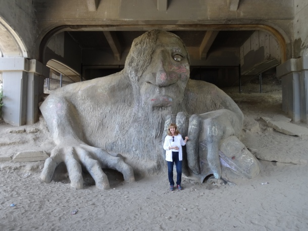 The Troll Beneath the Bridge - and me!