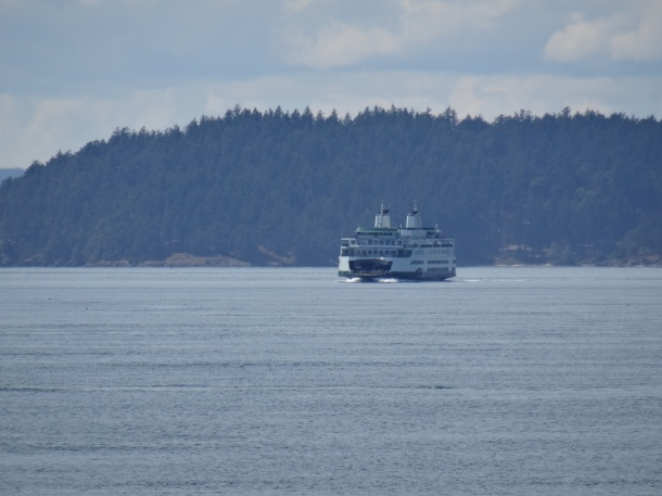 The ferry to Sidney by the Sea, Canada