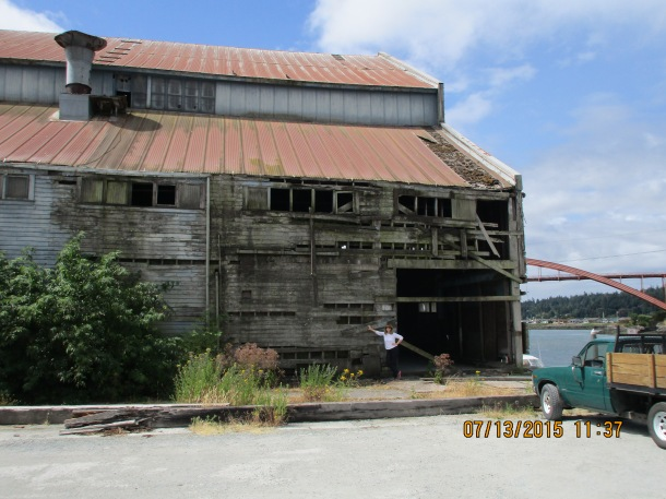 One of the picturesque barns