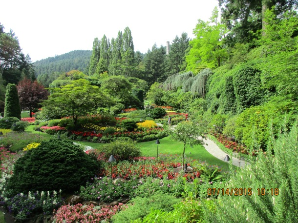 More views of these incredible gardens