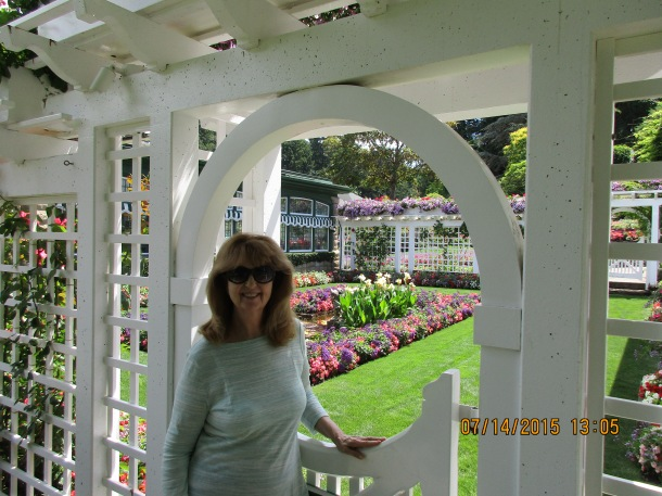A view at Butchart Gardens