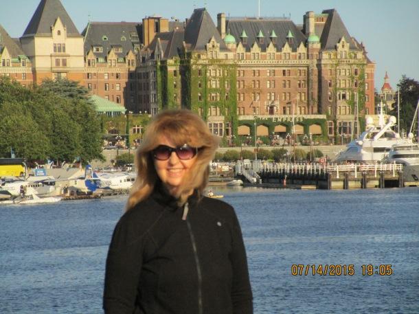 Across the harbor, Victoria