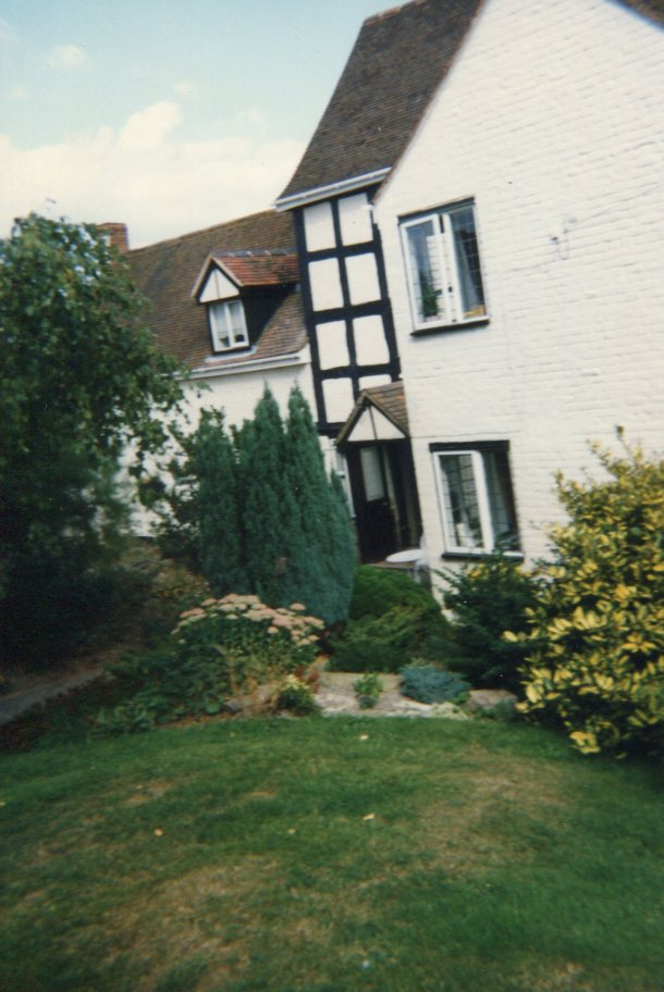 Our B&B in the Great Malverns