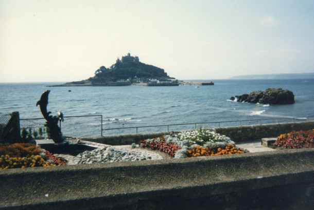 Viewing St Michael's Mount