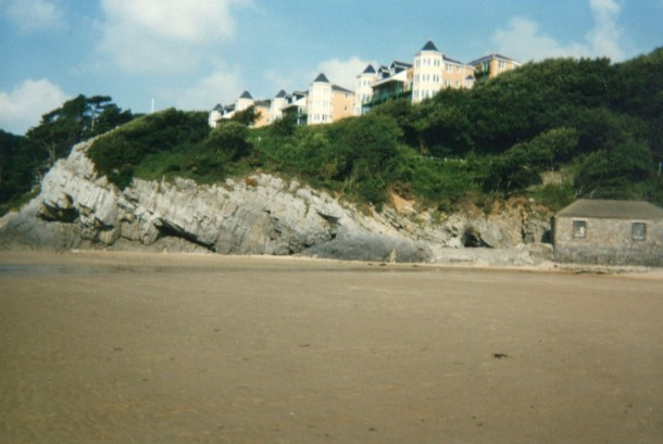 The sands at The Mumbles