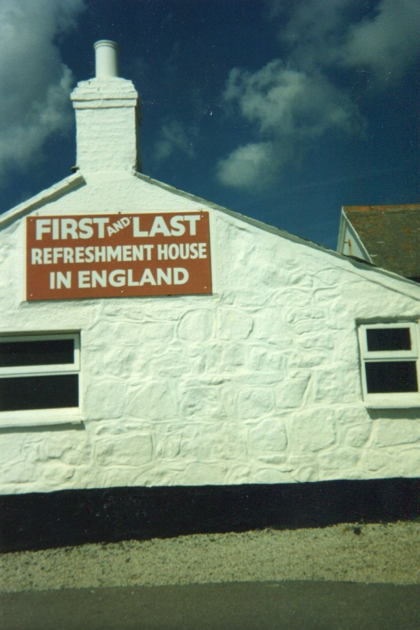 First and last refreshment house in England - Land's End