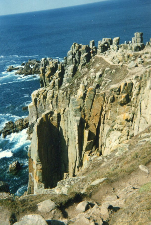 The cliffs at Land's End