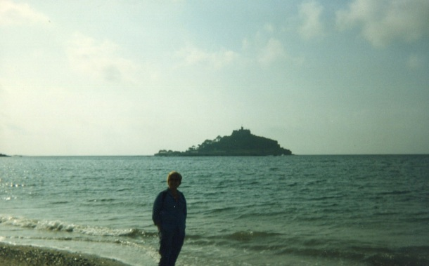 On the shores of Marazion